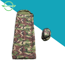 Outdoor Camping Sleeping Bag Travel Desert Spring Autumn Hooded Backpack Waterproof Breathable Warm Camouflage Sleeping Bag naturehike mid center ellipse open sleeping bag outdoor camping and home portable warm sleeping bag