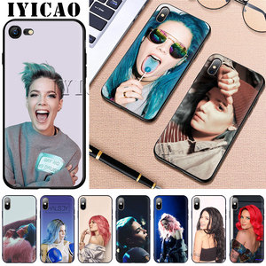 IYICAO Badlands Halsey Soft Silicon for iPhone 5 5s SE 10 X XS XR XS Max 6 6s 7 8 Plus 11 pro max Phone Cover(China)