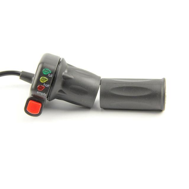 24/36/48V vélo électrique tour daccélérateur modifié contrôle de vitesse poignée barre daccélérateur auto-verrouillage pièces