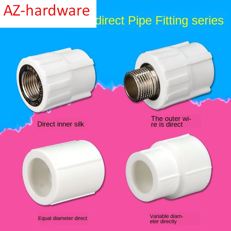 PPR Inner Wire Outer Wire Direct Elbow Household PPR Hot And Cold Water Pipe Fittings Hot Melt Joint