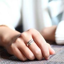 Кольцо обручальное регулируемое для мужчин и женщин модное креативное