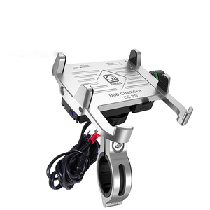 Image 3 - С USB зарядным устройством, мотоциклетные держатели, подставка для телефона, держатель, универсальный для iphone, мотоциклетный держатель для мобильного телефона