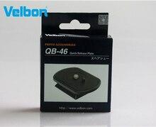 Velbon QB 46 لوحة الإفراج السريع ل EX 430/440/444/530/540/630/640 ، FHD 53D إكس سلسلة حوامل