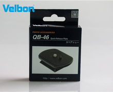 Velbon QB 46 Quick Release Plate for EX 430/440/444/530/540/630/640,FHD 53D EX Series Tripods