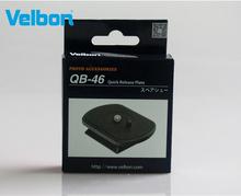 Velbon QB-46 płyta szybkiego uwalniania dla EX-430 440 444 530 540 630 640 FHD-53D statywy serii EX tanie tanio Plastikowe 63*45