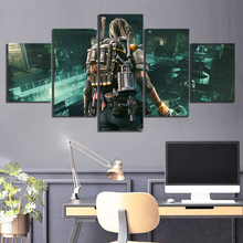 5 Piece The Division 2 Game Poster Paintings Tom Clancys Canvas Wall Picture Artworks Home Decor