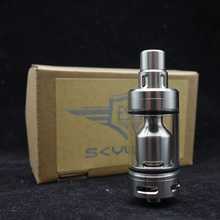 22mm 4ml Capacity Coppervape Skyline Style RTA MTL Atomizer 316 SS Material With 510 Drip Tip