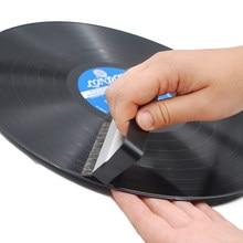 Kit de limpeza de discos de vinil combinação kit de limpeza com escova pequena lp fonógrafo registro kit de limpeza