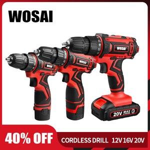 WOSAI 12V 16V 20V Cordless Dri