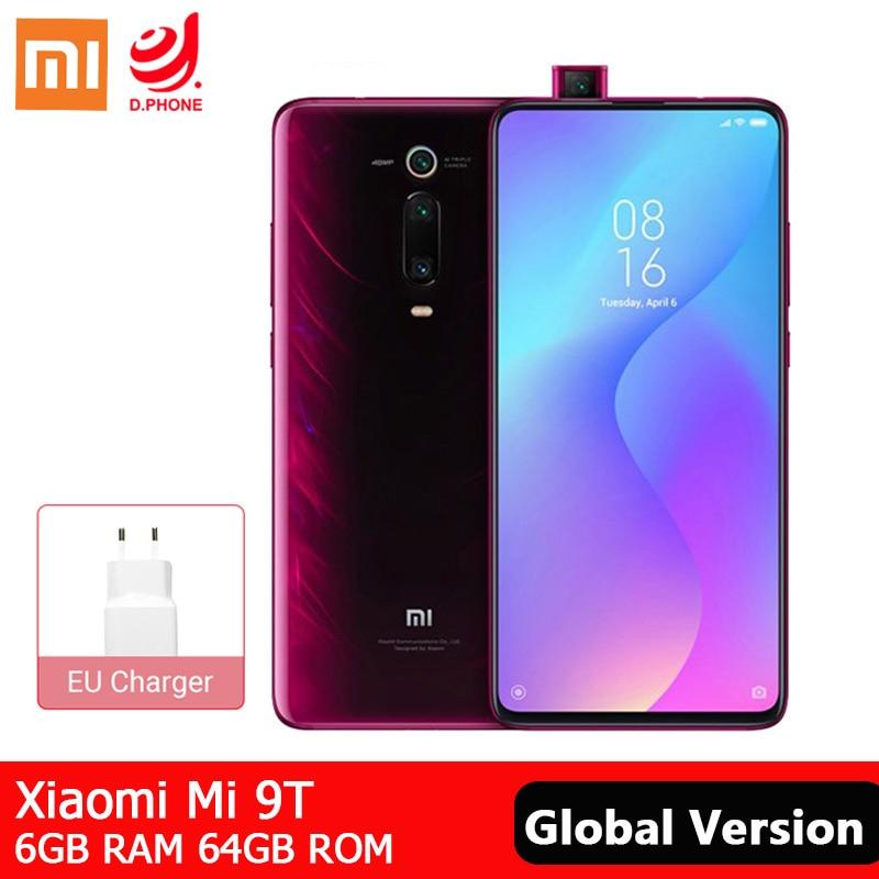 "Global Version Xiaomi Mi 9T 6GB 64GB Smartphone Snapdragon 730 Octa Core 6.39"" AMOLED Display 48MP Camera Mobile Phone 4000mAh"