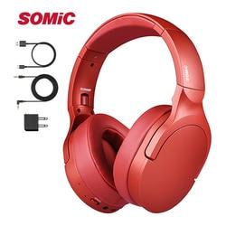 SOMIC SC2000bt Bluetooth 5.0 HiFi Wireless Headset Headphone Stereo Sound Sports Foldable Headset for iPhone iPod MP4 Laptop