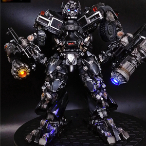 Image 2 - BMB Transformation Robot Black Mamba LS 09 LS09 Ironhide Weapon Expert KO MPM06 MPM 06 Alloy Truck Mode Action Figure Model Toys