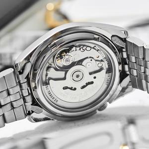 Image 5 - Seiko Reloj Automático para hombre, cronógrafo deportivo, resistente al agua, masculino