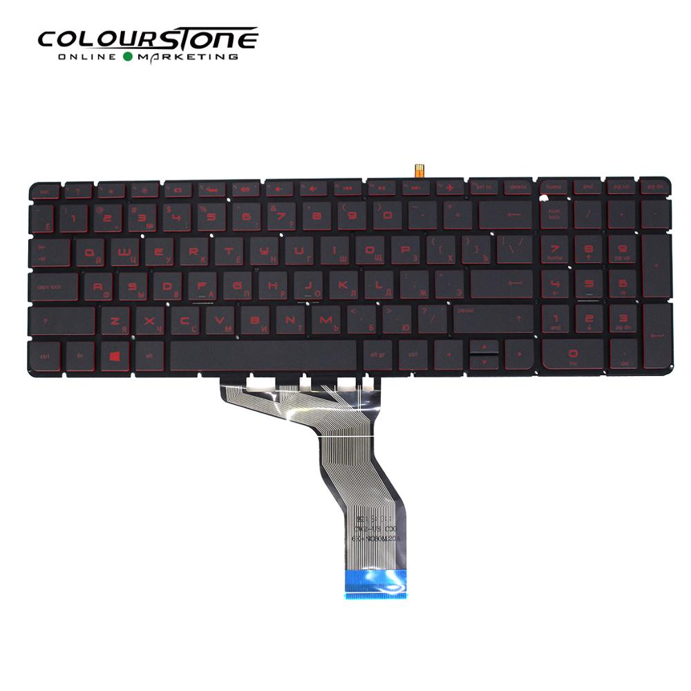 DR.Russian Laptop Keyboard For <font><b>HP</b></font> 15-ab 15-ak 15-bc 15-ab000 15-ab100 15-ab200 15z-ab100 15z-ab 15AK 15bc <font><b>15AB</b></font> image