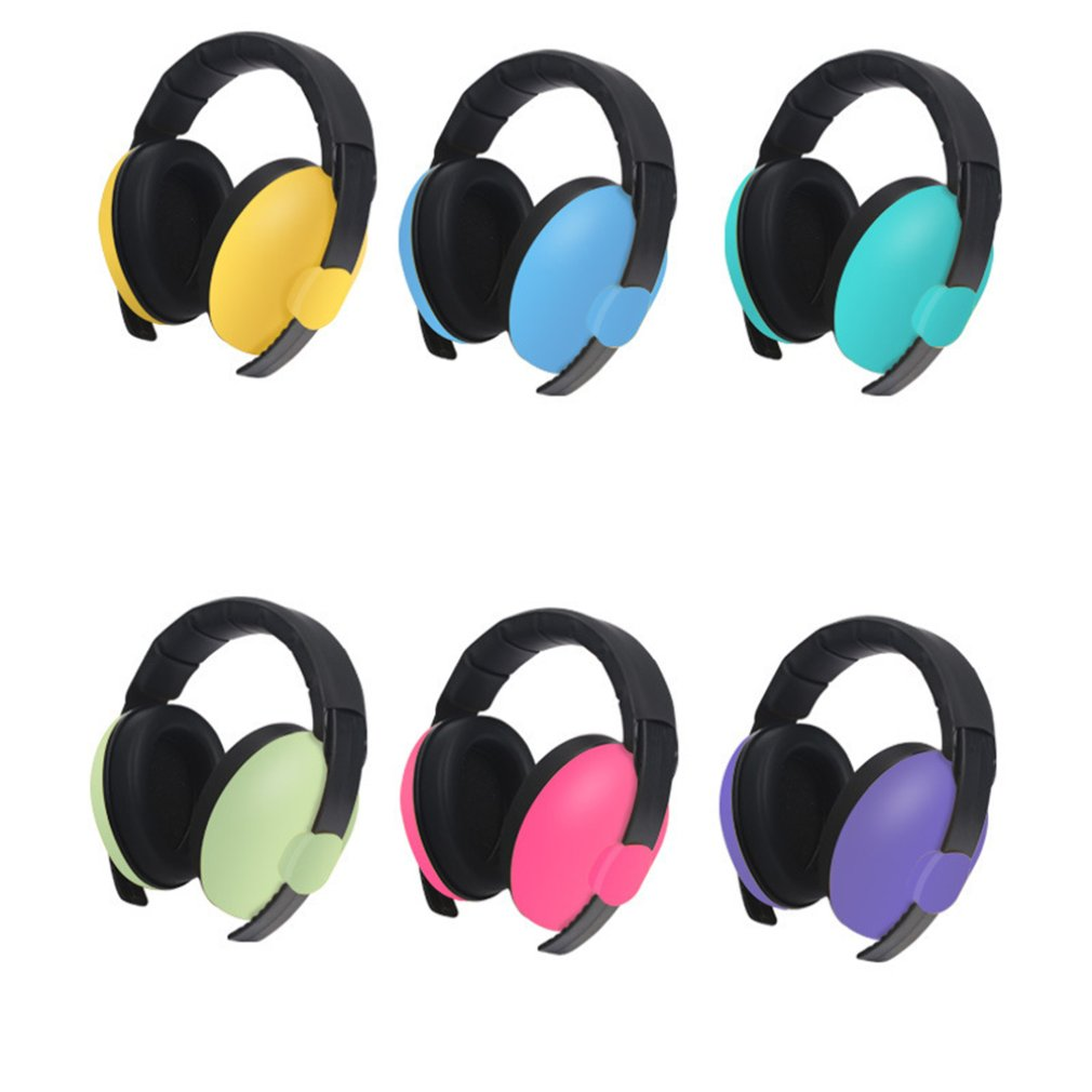 Children Ear Defenders Noise Proof Baby Earmuffs Protection Baby Anti-Noise Comfortable Durable Headphone For Sleep Learning