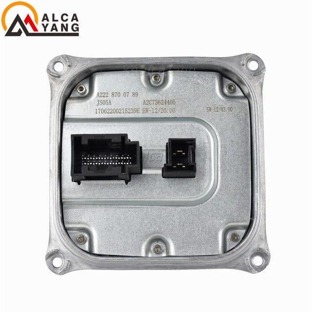 Nowy wysokiej jakości reflektor LED balast konwerter napięcia A2228700789 dla MERCEDES BENZ W205 W212 W222 E S klasa A222 870 07 89