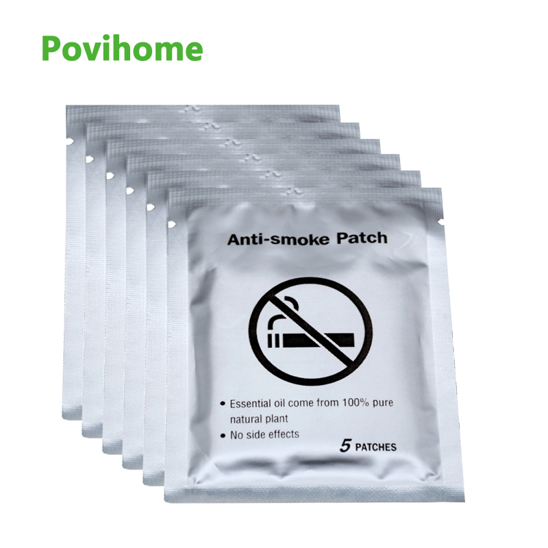 30pcs 100% Natural Ingredient Anti Smoke Patch Stop Quit Smoking Cessation Chinese Herbal Medical Plaster Health Care D2051