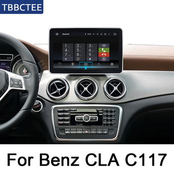 For Mercedes Benz CLA Class C117 2013~2014 NTG HD Screen Android Car GPS Navi Map Original Style Multimedia Player Radio WIFI HD image