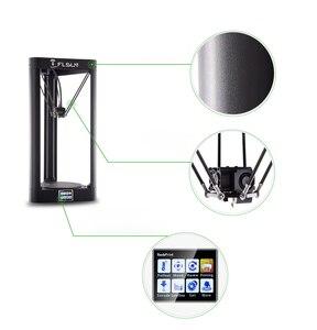 Image 4 - FLSUN QQ S PRO 3D מדפסת במהירות גבוהה גדול הדפסת גודל 255*360mm kossel דלתא 3d Printer אוטומטי פילוס מגע מסך