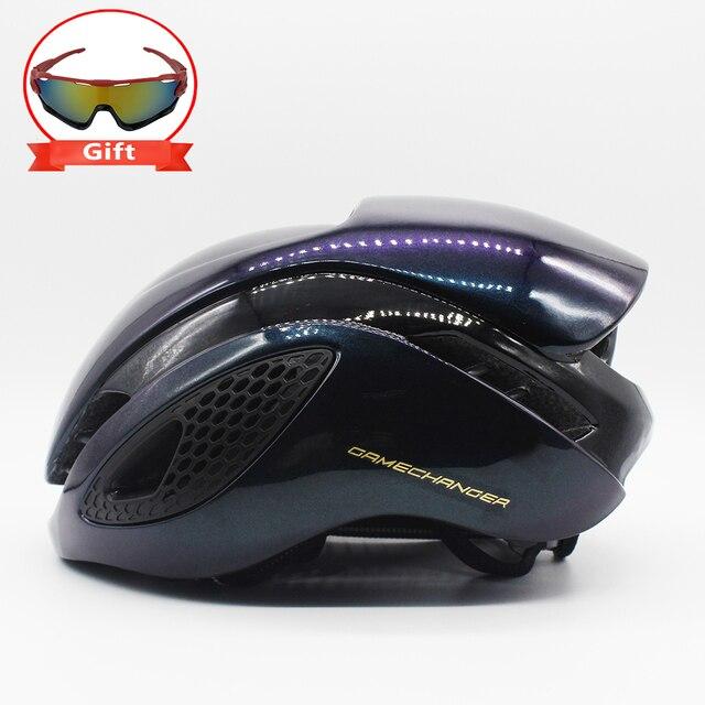 300g aero tt capacete de bicicleta de estrada ciclismo de bicicleta esportes capacete de segurança equitação dos homens de corrida em-molde tempo-julgamento capacete 1