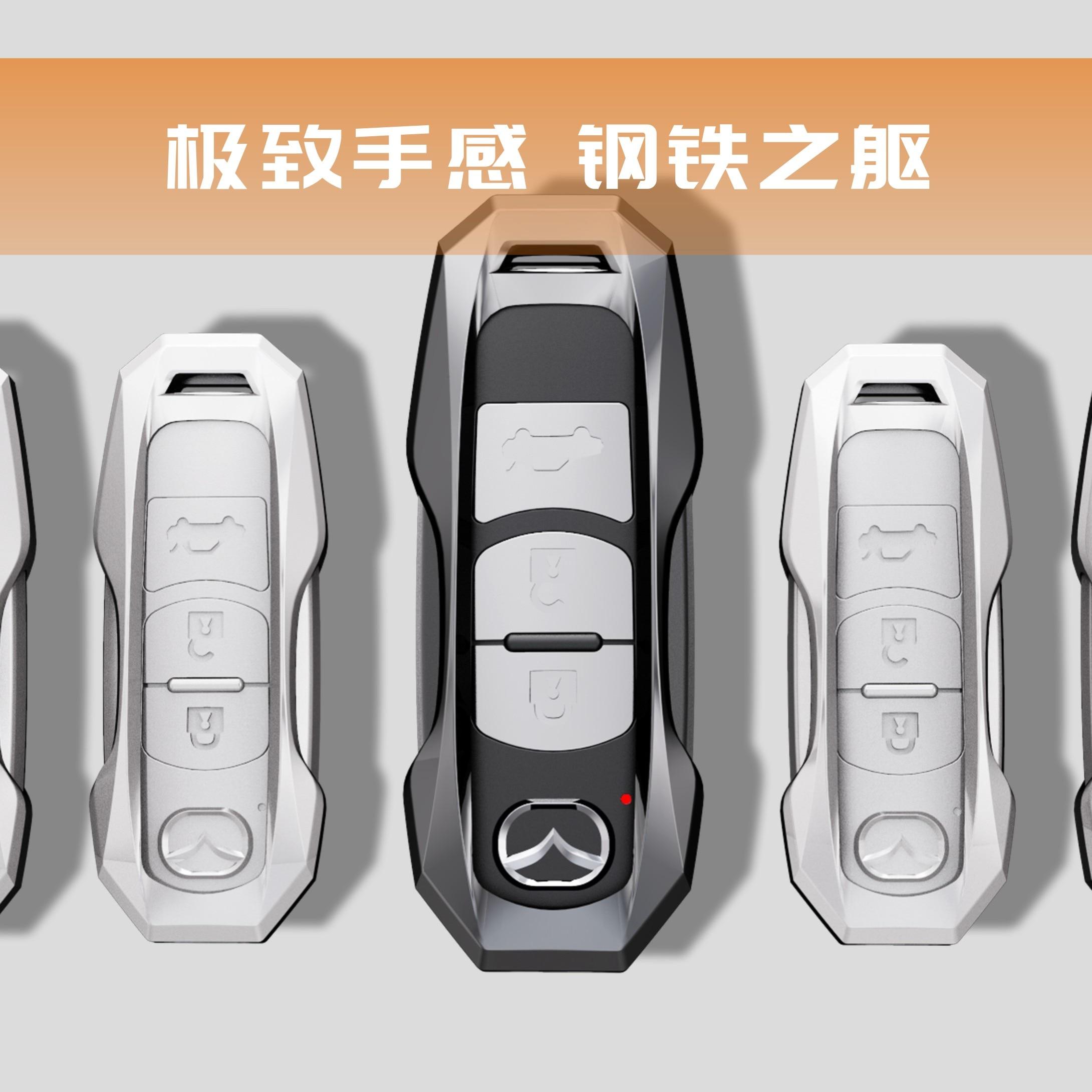 New Metal Car Key Cover Case Fit For Mazda 2 3 5 6 2017 CX-4 CX-5 CX-7 CX-9 CX-3 CX 5 Accessories