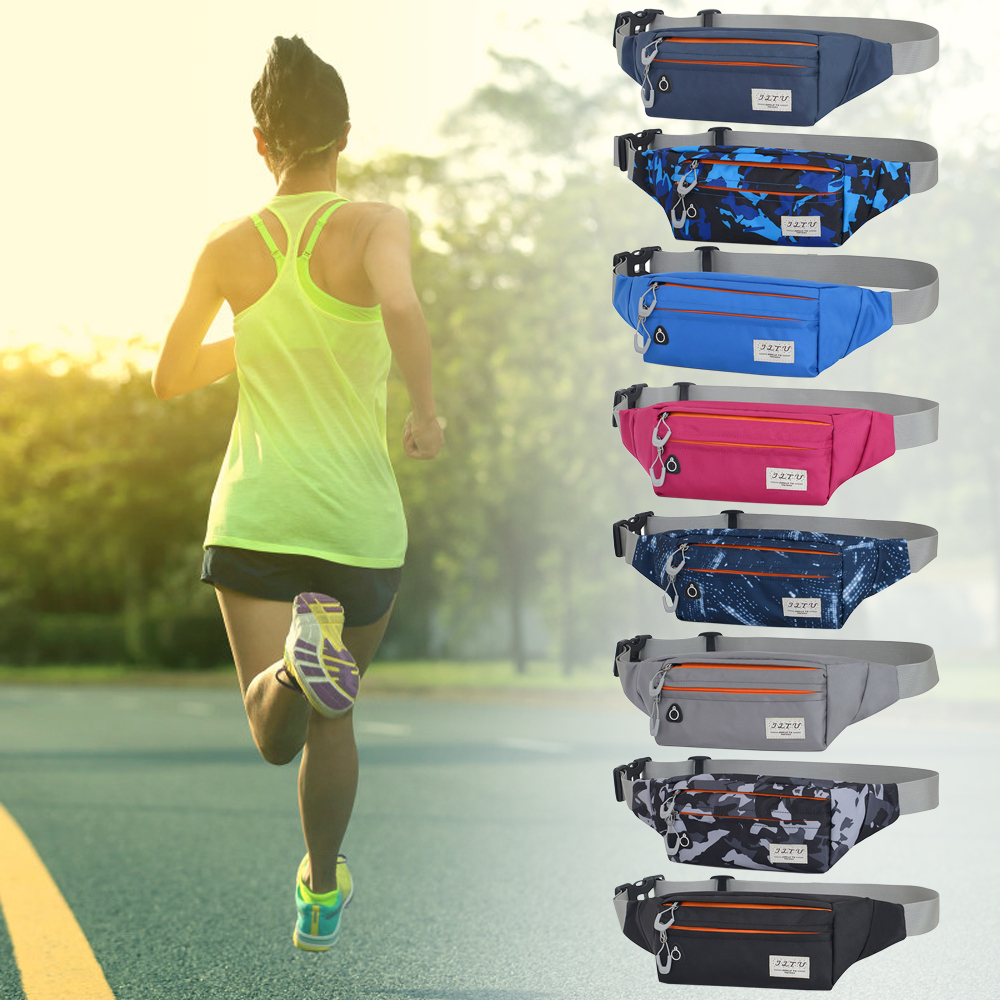 Waist Pack Running Belt Bags Adjustable Packs Outdoors Workout Fanny Cycling Hiking Phone Purse For Men Women Cell Phone Holder