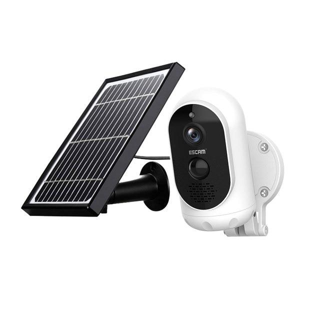 Купить escam g12 1080p full hd наружная аккумуляторная батарея солнечная картинки цена