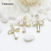Корейские ювелирные изделия простые и стильные 14k позолоченные