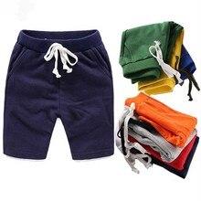 Children Summer Shorts Panties Beach-Clothing Girls Toddler Boys Kids Cotton Fashion