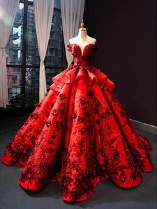 Bridal-Gown Prom-Dress Pregnant Maternity Formal Burgundy Evening High-Waist Luxury