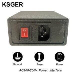 Image 5 - KSGER T12 STM32 محطة لحام رقمية T12 نصائح الحديد السيارات النوم زيادة درجة الحرارة التدفئة السريعة 907 ABS مقبض عدد وأدوات