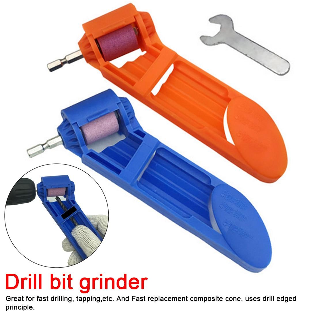 Power Tool 18.5cm Portable Drill Bit Sharpener Corundum Grinding Wheel For Grinder Tools For Drill Sharpener