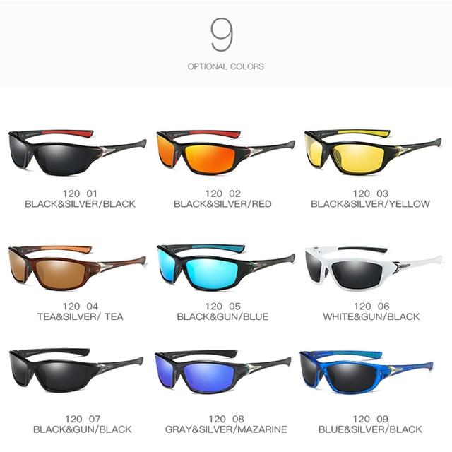 2020 Fashion Sports Polarized Sunglasses Women Men Golf Fishing Running Sunglasses UV400 Protection Ultra Light 4