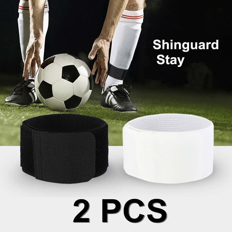 1 Pair Adjustable Shinguard Stay Leg Soccer Socks Fixing Strap Gaiter Calf Sports Protective Gear Leggings Guards Guardian
