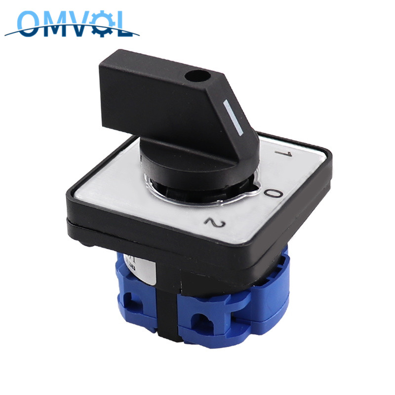 Cam Switch 3 Position 1 Pole 4 Terminals Rotary Switch 660V 20A Changeover Switch