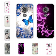 For Motorola Moto E5 Case Soft TPU Silicone G6 Play Cover Cute Patterned E 5th Gen. Shell