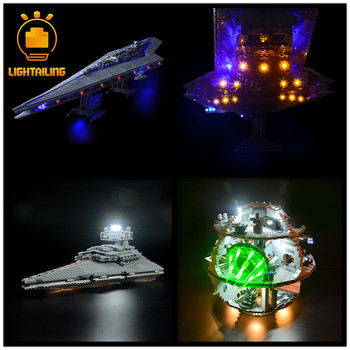 LIGHTAILING LED Light Kit ONLY For Star war Series Compatible With 10221/75105/10188/75055/75192/75212 (NOT Include Model) image
