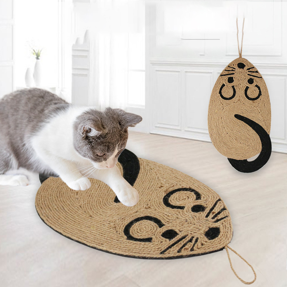 Sisal Cat Scratcher Board Scratching Post Mat Toy Soft Bed Mat Claws Care for Cat Anti Scratch Training Sisal Claw Sharpener Pad