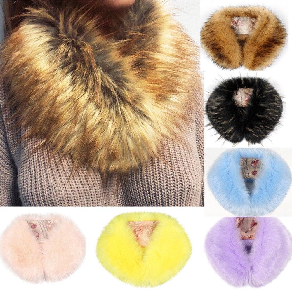 Winter Cashmere Elegant Scarf For Ladies Wraps Winter Scarves Women Scarf Fashion  Pashmina Fur Imitation Fur Grass Scarves