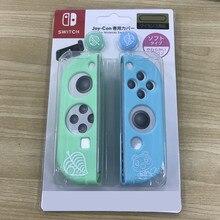 Animaux croisant pour Console de commutateur nintention JoyCon couverture en Silicone pour Joy-Con Cpas pour Nintendo Switch manette contrôleur de couverture
