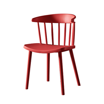 Simple chair stool backrest home dining chair plastic net red desk horn chair nordic lazy talk leisure chair