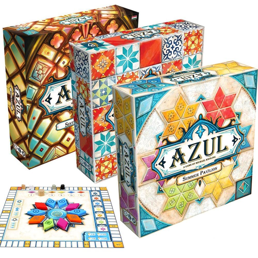 Plan B Games Azul Board Game Board Games Tile Drafting For 2-4 Player Stained Glass Of Sintra 2 Family Fun Joy Summer Pavilion