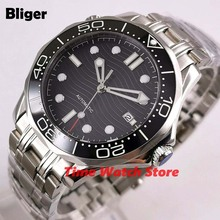 Bliger 41mm Miyota 8215 Automatic watch men Sapphire glass w