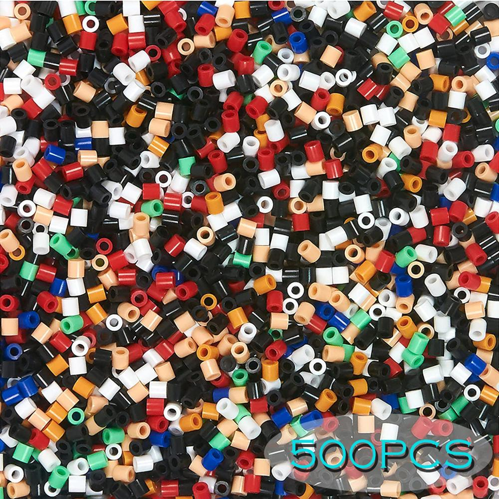 500PCs 5mm 134colors Iron beads for kids hama beads diy Puzzles high quality Handmade gift toy