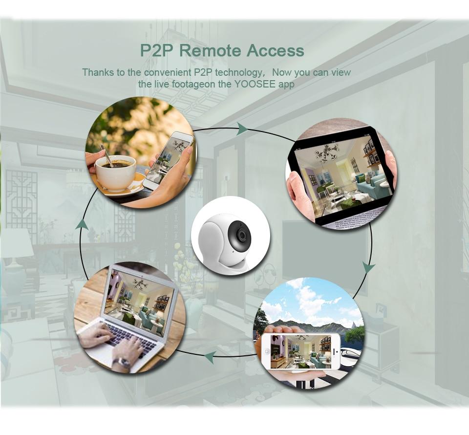 Besder 1080P 720P домашняя ip-камера безопасности двухсторонняя аудио Беспроводная мини-камера ночного видения CCTV WiFi камера Детский Монитор iCsee