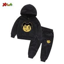 Детская одежда Детский комплект толстовки весенний модный спортивный
