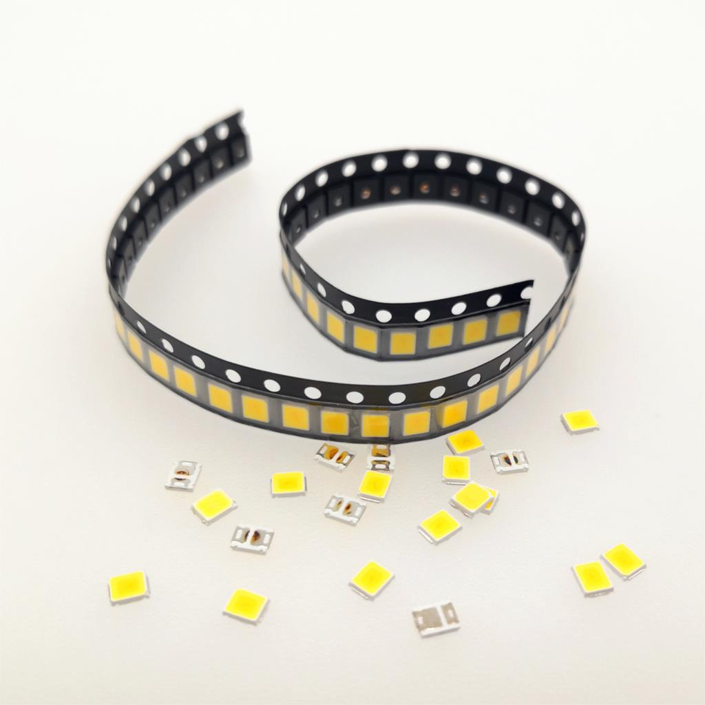 100Pcs 100% Original SMD 5730 <font><b>2835</b></font> Chip <font><b>LED</b></font> lamp 3V 40-55 LM 0.5W white <font><b>LEDs</b></font> Diode light For <font><b>LED</b></font> Strip Spotlight indoor bulb image