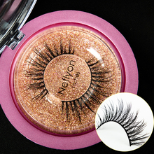 New 3 Pairs Natural Real Mink Hair Eyelashes False Lashes Long Makeup 3D Lash Extension Eyelash For Beauty