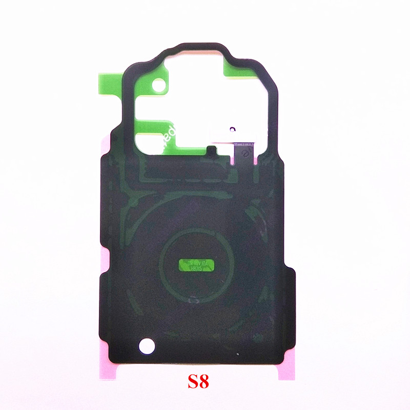 1X New <font><b>NFC</b></font> Antenna Repair Part Wireless Charger Charging Chip Sticker For Samsung Galaxy <font><b>S8</b></font> G950 <font><b>S8</b></font> Plus G955 <font><b>S8</b></font>+ image