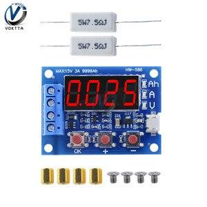 18650 тестер электропитания литиевой батареи ZB2L3 тестер батареи светодиодный цифровой дисплей измеритель сопротивления свинцово-кислотной е...